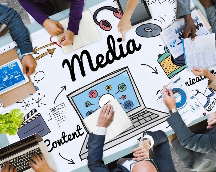 Media Multimedia Social Media Online Concept