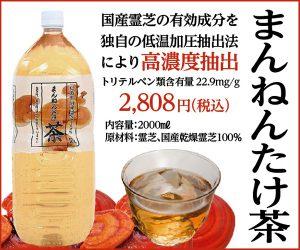 株式会社G.L.Wがお届けする国産霊芝有効成分が凝縮された飲みやすいお茶