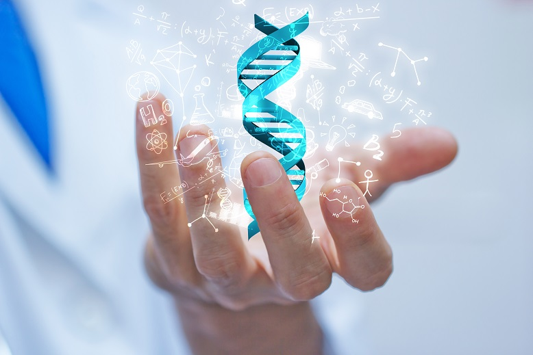 mano, braccio, dna, scienza, biologia